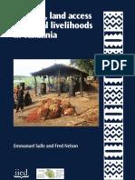 Biofuel Land Access and Local Livelihood in Tanzania