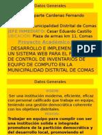 Exposicion Final Practicas Pre Profesionales I