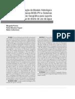Integração do Modelo Hidrológico para Grandes Bacias MGB ‑ IPH e Sistemas de Informação Geográfica para suporte à decisão de outorga de direito de uso da água