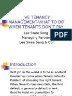 Tenancy Management