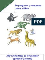 preguntas y respuestas libro animales (mamíferos)
