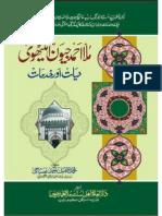 Hazrat Ahmaed Mulla Jeevan Hayat W Khidmat by Molana Tufail Misbahi