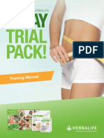 140925 3 Day Trial Pack Manual USEN