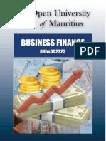 Business Finance Book - Open