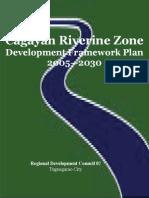 Cagayan Riverine Zone Development Framework Plan 2005_2030