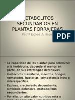 86001567 Metabolitos Secundarios en Plantas ForrajerasMETABOLITOS SECUNDARIOS EN PLANTAS FORRAJERAS