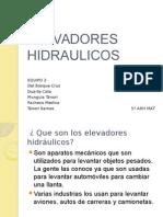 ELEVADORES HIDRAULICOS EQUIPO2