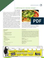 Pizza Nutritiva e Saborosa