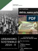 Lectura Del Libro - Delirious New York