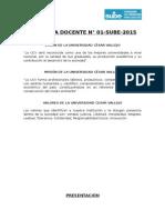 ytrDirectiva Docente - UCV 2015 (1)