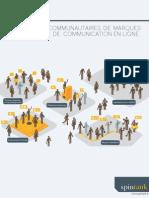 Spintank - Plateformes communautaires de marques et stratégies de communication en ligne -