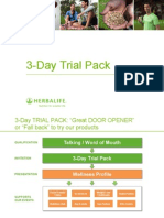 3 Day Trial Packs Presentation Final Sept