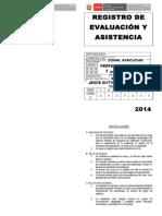 01 Registro de Evaluación y Asistencia Inicial
