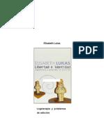 Lukas Elisabeth - Libertad E Identidad - Logoterapia Y Problemas de Adicción - Paidós - 2005