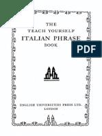 Teach Yourself Italian Phrasebook