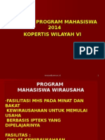 Pedoman Pmw Kopertis 6 Jateng 2014