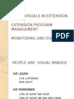 Audio-Visuals in Extension