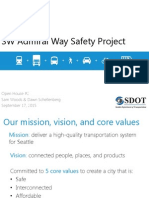 Slide deck for 9/17/2015 Admiral Way Project meeting