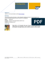 Best of SAP BI - Basic BI Configuration Settings