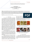 Review on Normal and Affected Fruit Classification