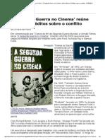A Segunda Guerra No Cinema - Folha de S Paulo