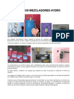 Manual Equipos Dosificadores Hydro
