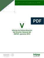 Informe Autoevaluacion Dg 2013