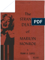 Capell Francis Alphonse - The Strange Death of Marilyn Monroe