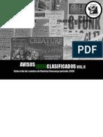 Avisos (Des)Clasificados Vol II - Colección de cuentos de Cinosargo 2009