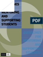 Mentoring Guidelines