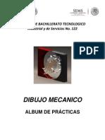 Album de Practicas Dibujo Mecanico