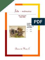 Aide Mémoire de Français CE2-CM1