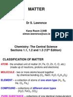 L01 Matter & Balancing Equations