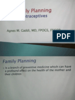 Family Planning Contraception