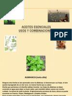 Aceites Esenciales Usos y Combinacionespdf