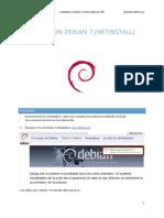 A6 TP 1 Installation Debian 7