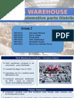 Parts Warehouse Company Presentation