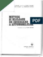 Metode Si Mijloace de Incercare a Automobilelor I