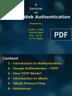 Advance Authentication Techniques
