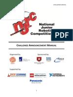 NJRC 2014 Challenge Announcement