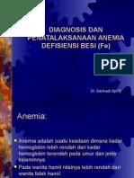 KP 11.3 Dx & Penatalaksanaan Anemia Def Besi