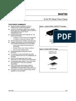 ST M48T86 Real time clock IC datasheet