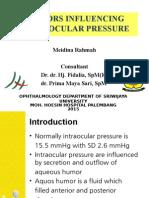 intraocular pressure