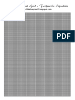 [Papel Vegetal Grid] Quadriculado Para Moldes a4