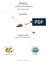 VQ MODEL KA-7 GLIDER ARF