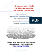 Agents Très Spéciaux - Code U.N.C.L.E Télécharger Film Complet Gratuit Qualité HD