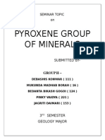 Pyroxene Group of Minerals