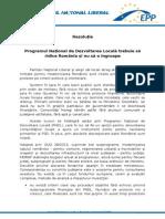 Programul Naţional de Dezvoltarea Locală trebuie să ridice România şi nu să o îngroape