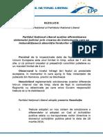 PNL susține eficientizarea sistemului judiciar prin crearea de instrumente care sa îmbunătățească absorbția fondurilor europene