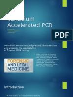 Vanadium Accelerated PCR